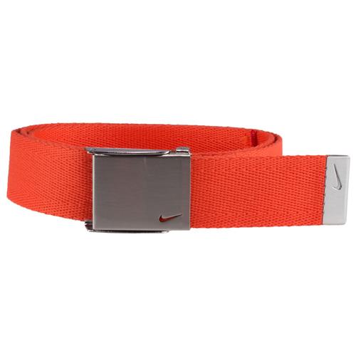 Men's Swoosh Web Golf Belt, Orange, swatch