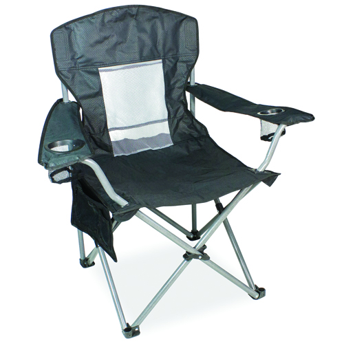 Mesh Big Boy Chair, Black, swatch