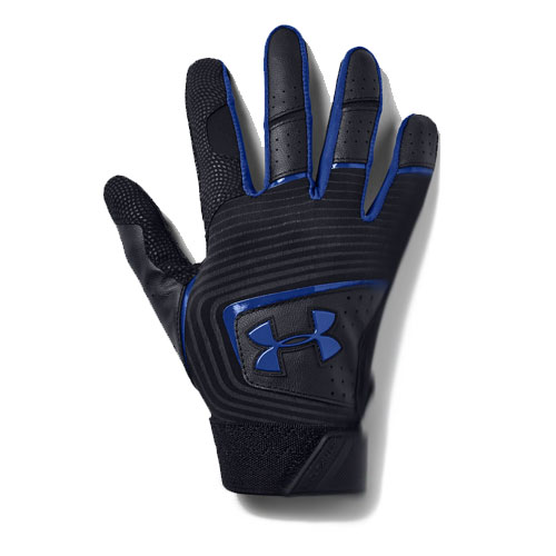 Youth Clean Up Baseball Glove, Black/Blue, swatch