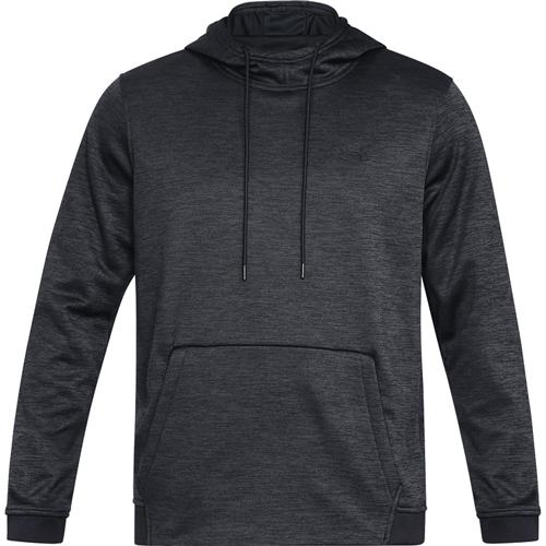 Men's Armour Fleece Twist Hoodie, Black, swatch