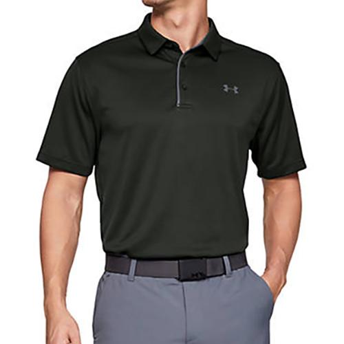 Men's Tech Polo Shirt, Dkgreen,Moss,Olive,Forest, swatch