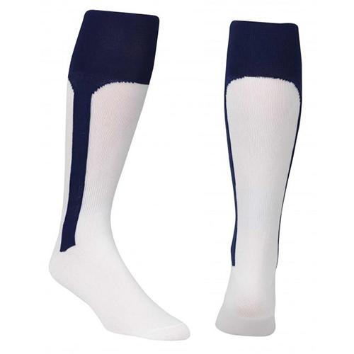 Youth Stirrup Baseball Socks, Navy, swatch