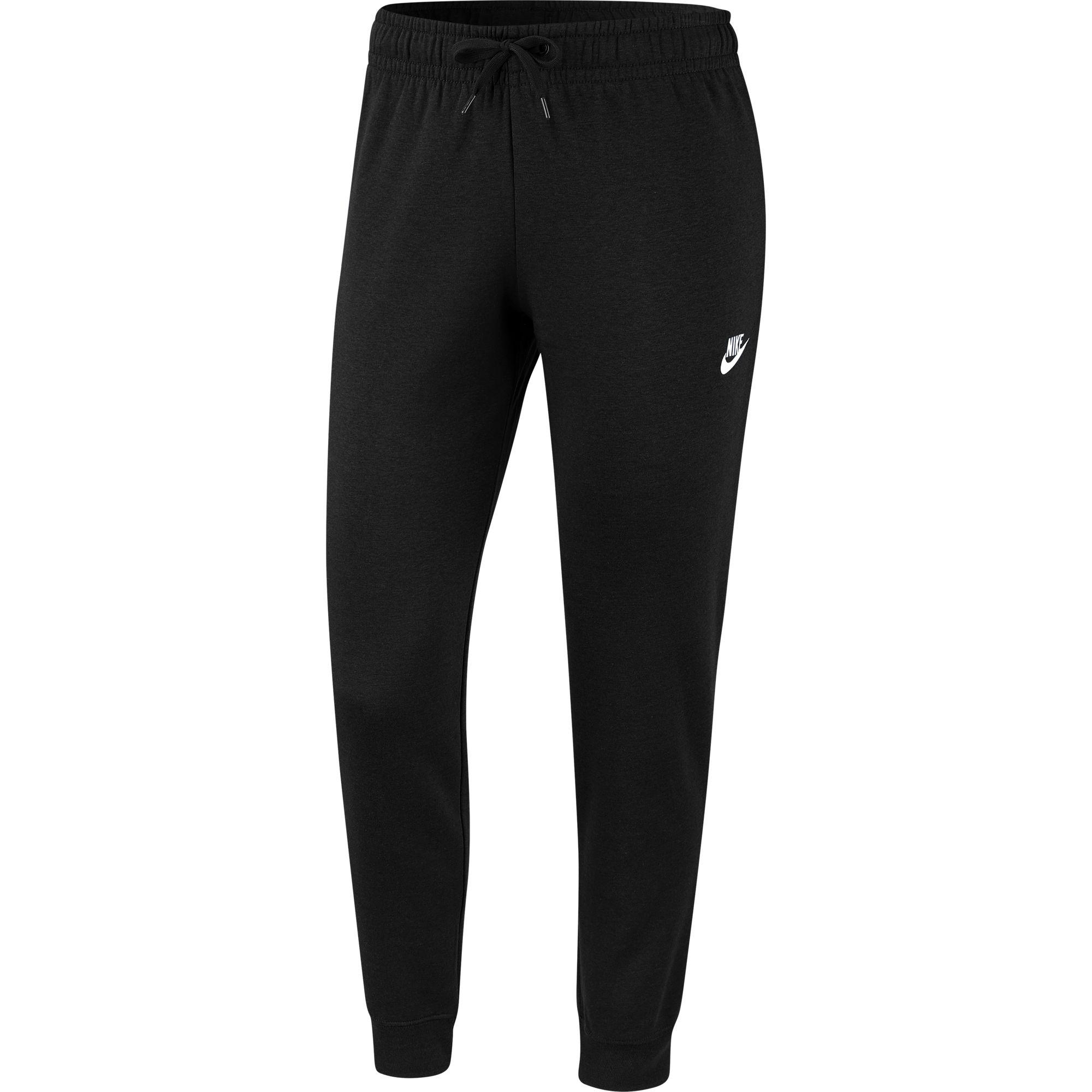 Women's Fleece Knit Sweatpant, Black, swatch