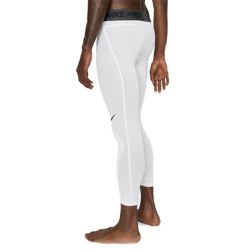 Men's Pro 3/4 Tights, White, swatch