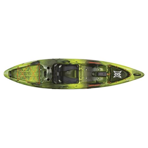 Pescador 12 Pro Angler Kayak, Green/Blk, swatch