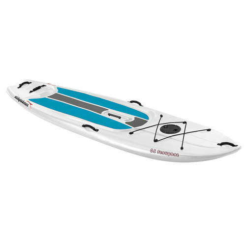 Seaquest Stand Up Paddle Board (SUP), White/Blue, swatch
