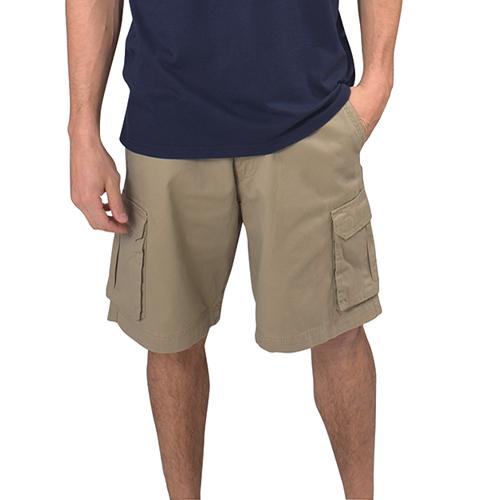 Men's Twill Cargo Shorts, Tan,Beige,Fawn,Khaki, swatch