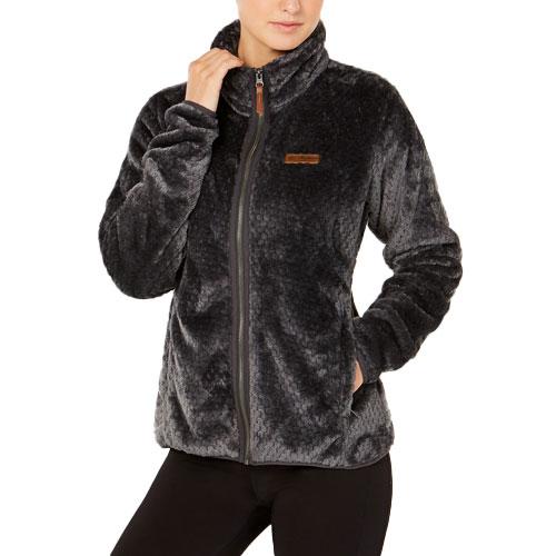 Women's Fireside II Sherpa Full-Zip Jacket, Charcoal,Smoke,Steel, swatch