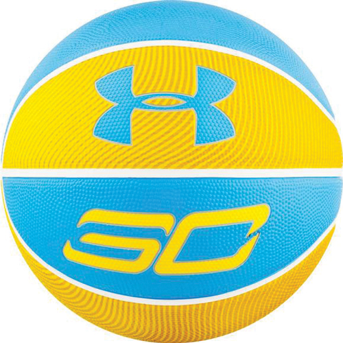 Curry Basketball, Blue/Yellow, swatch