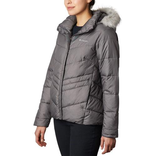 Women's Peak To Park Insulated Jacket, Heather Gray, swatch