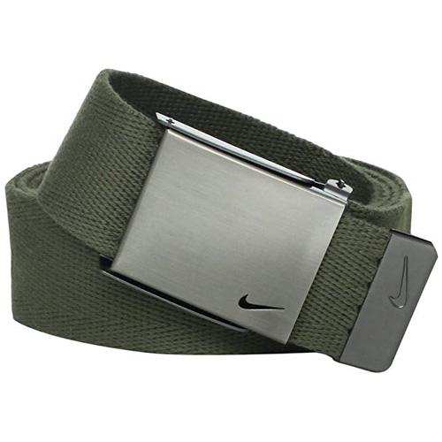 Men's Swoosh Web Golf Belt, Green, swatch