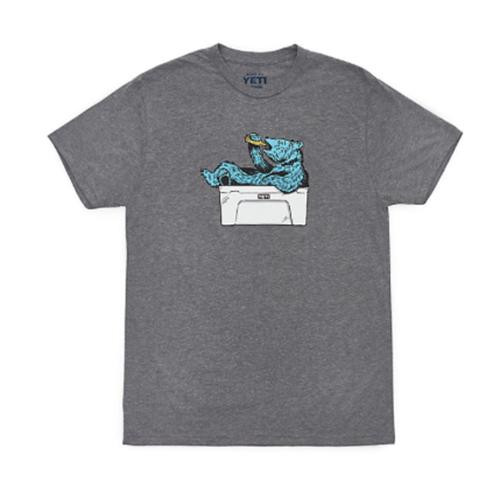Men's Thirsty Bear Short-Sleeve Tee, Gray, swatch