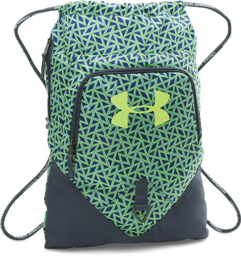Undeniable Sackpack, Green Patterned, swatch