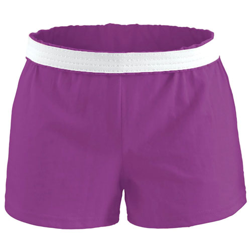 Women's Cheer Shorts, Med Purple,Plum,Grape, swatch