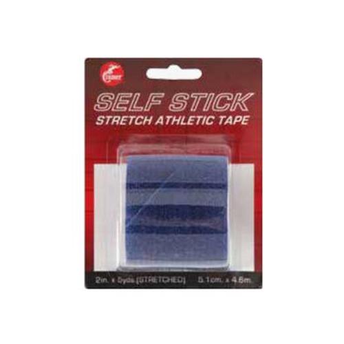 Self-Stick Stretch Athletic Tape, Black, swatch