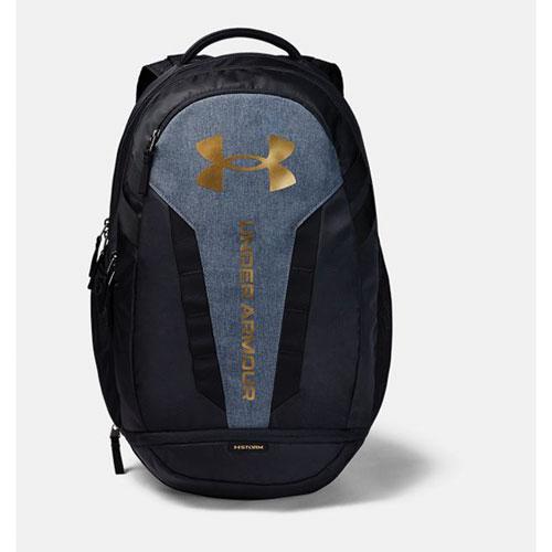 Hustle Backpack, Black/Gold, swatch