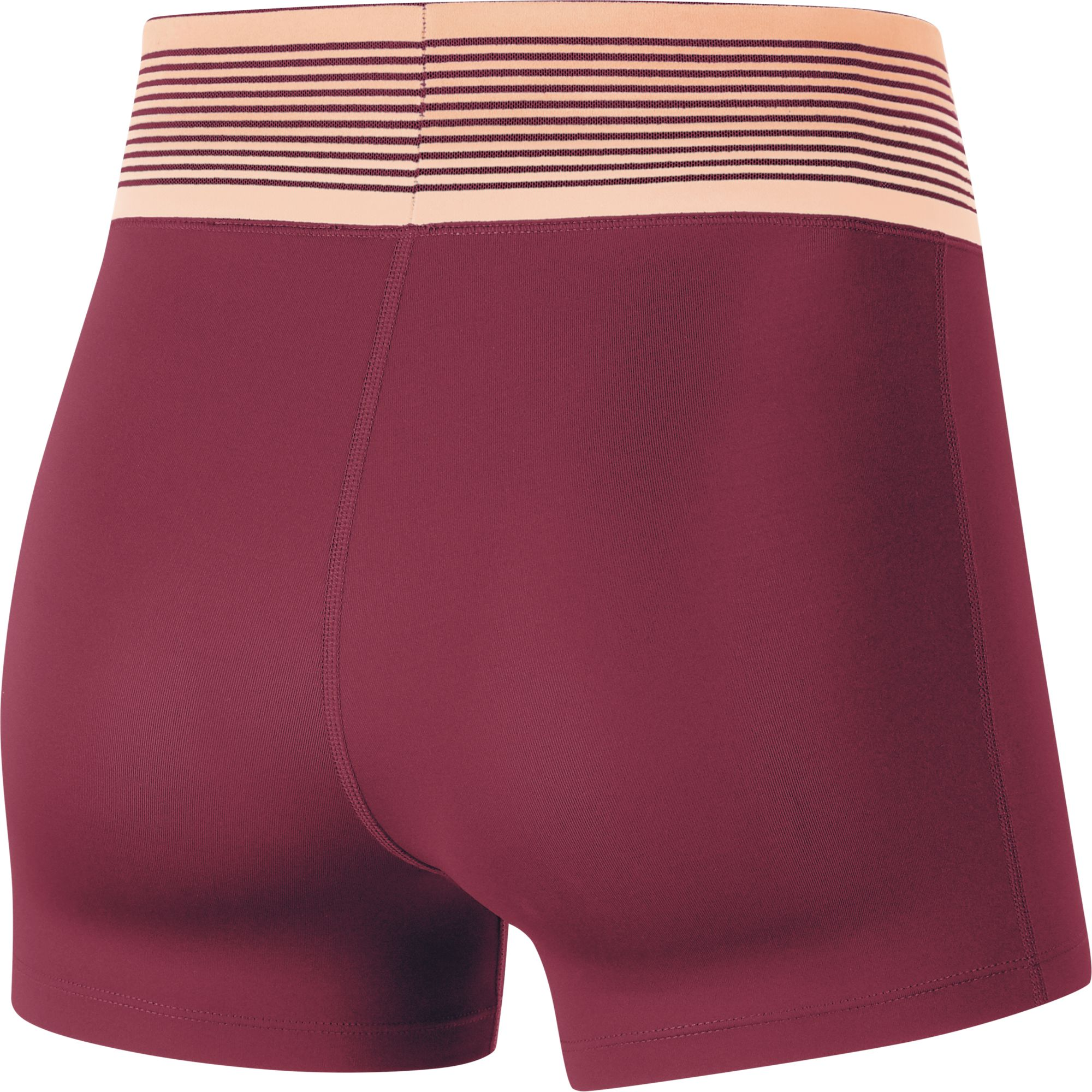 Women's Pro Shorts, Dk Red,Wine,Ruby,Burgandy, swatch