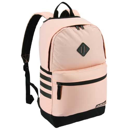 Classic 3 Stripe III Backpack, Pink/Black, swatch