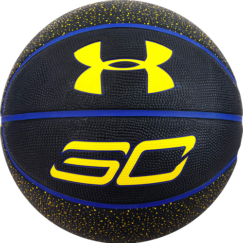 Stephen Curry Mini Basketball, Black/Blue, swatch