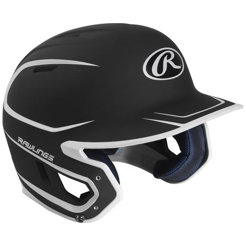 Senior MACH 2-Tone Matte Helmet, Black, swatch