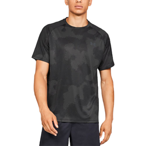 Men's Tech 2.0 Short Sleeve Printed T-Shirt, Charcoal,Smoke,Steel, swatch