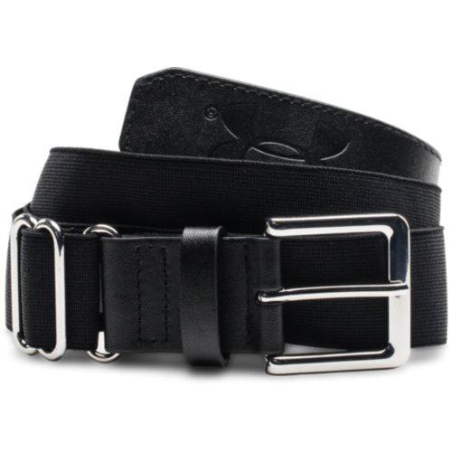 Adult Baseball Belt, Black, swatch