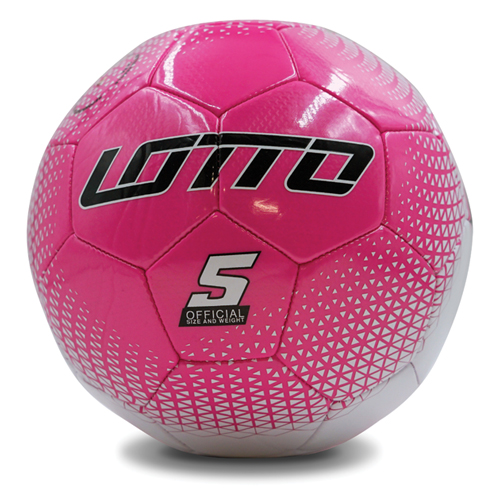 Spectrum Soccer Ball, Pink/White, swatch