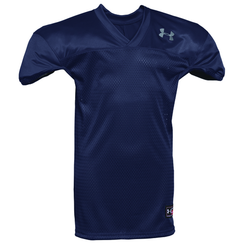 Youth Practice Football Jersey, Navy/White, swatch