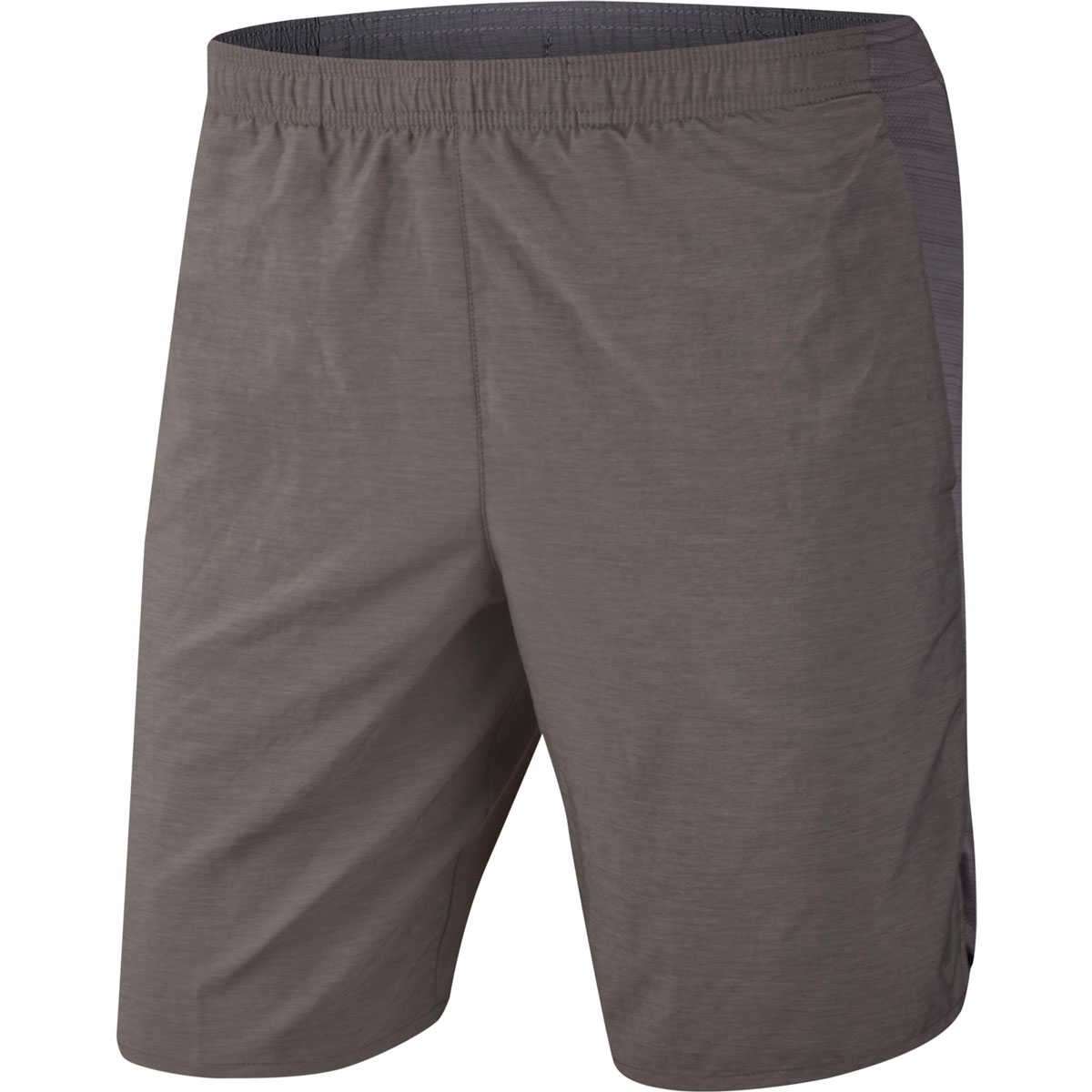 """Men's 9"""" Brief-Lined Running Shorts, Heather Gray, swatch"""
