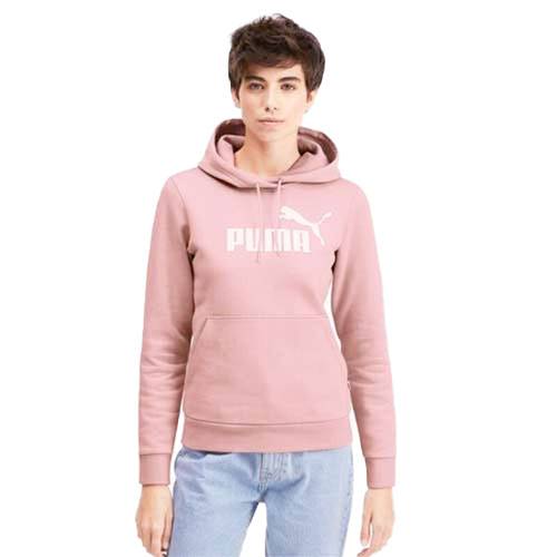 Women's Essentials Fleece Hoodie, Pink, swatch