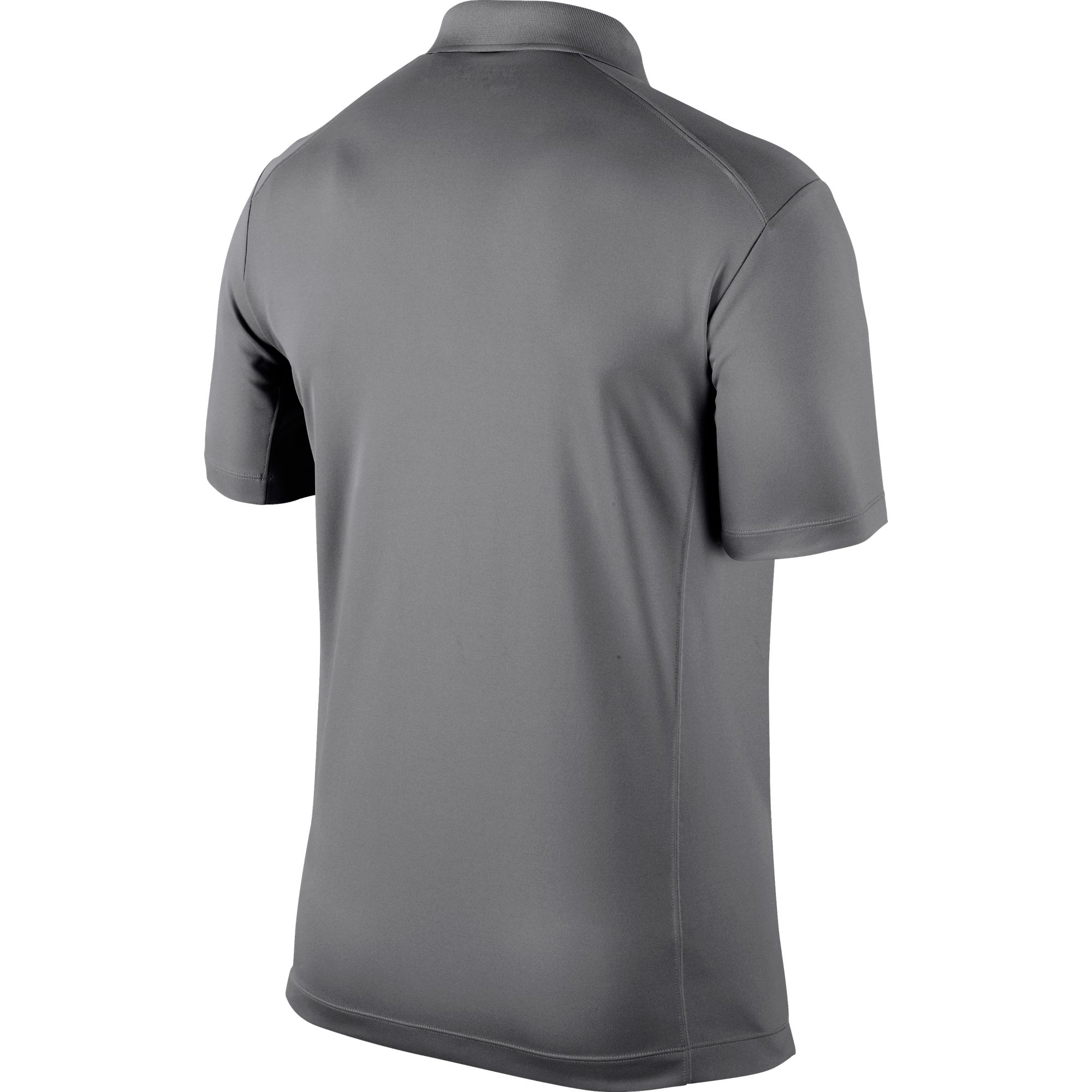 Men's Victory Solid Polo Golf Shirt, Black, large