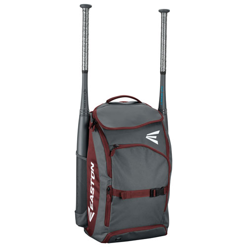 Prowess Fastpitch Softball Backpack, Maroon, swatch