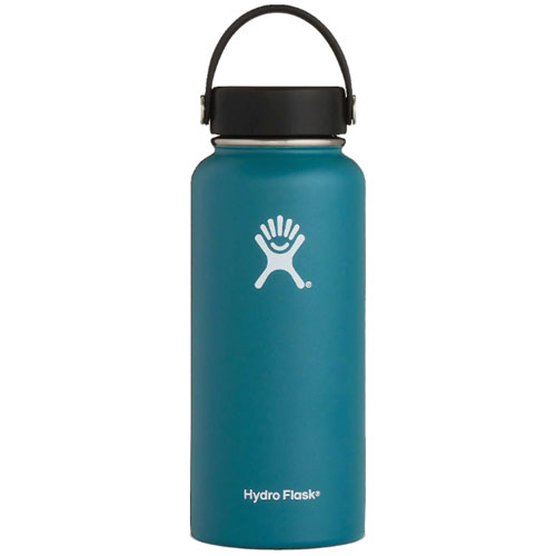 32 Oz Wide Mouth Water Bottle, Jade, swatch
