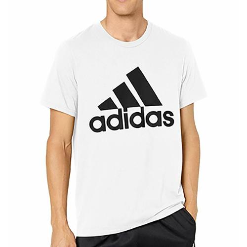 Men's Badge Of Sport Short Sleeve T-Shirt, White, swatch