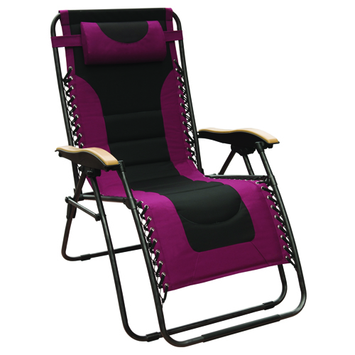 XL Deluxe Gravity Chair, Dk Red,Wine,Ruby,Burgandy, swatch
