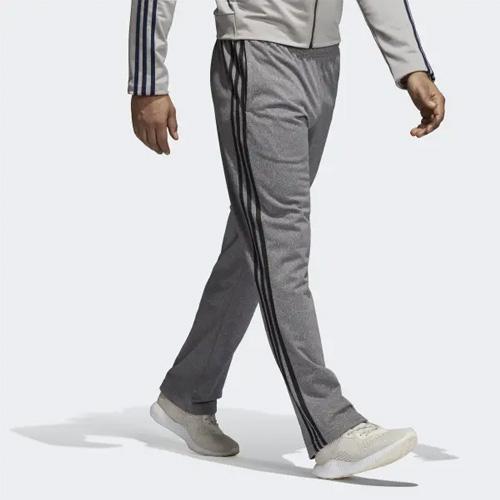 Men's Essential 3-Stripes Pant, Gray/Black, swatch