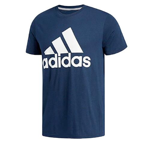 Men's Short Sleeve Badge of Sport Classic T-Shirt, Navy, swatch
