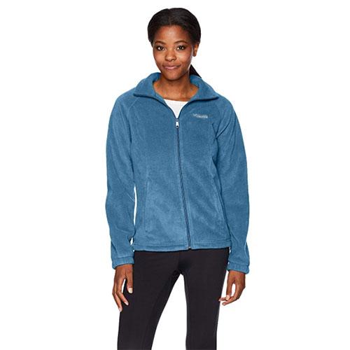 Women's Benton Springs Full Zip Fleece, Blue, swatch