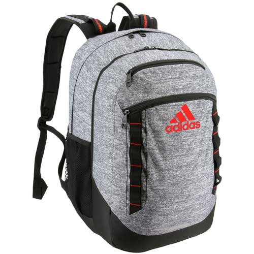 Excel V Backpack, Gray/Red, swatch