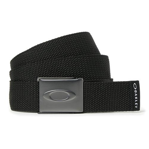 Men's Ellipse Web Golf Belt, Black, swatch