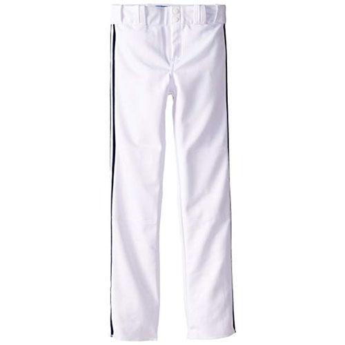 Adult Slug Trip Crown Open Hem Pant, White/Black, swatch