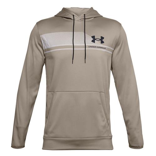 Men's Armour Fleece Plus SP Graphic Hoodie, Tan,Beige,Fawn,Khaki, swatch
