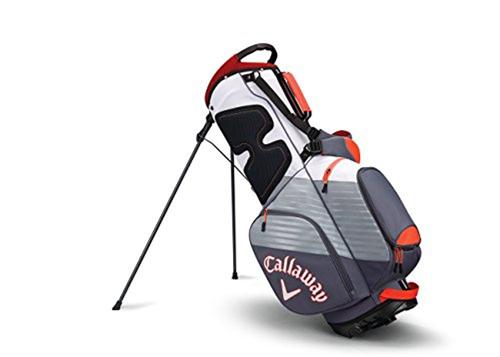 Chev Stand Bag, Dk Gray/Orange, swatch