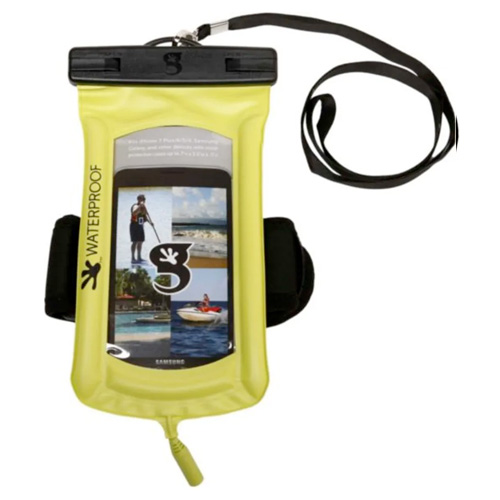 Waterproof Float Phone Dry Bag, Green, swatch