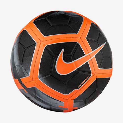 Strike Soccer Ball, Black/Orange, swatch