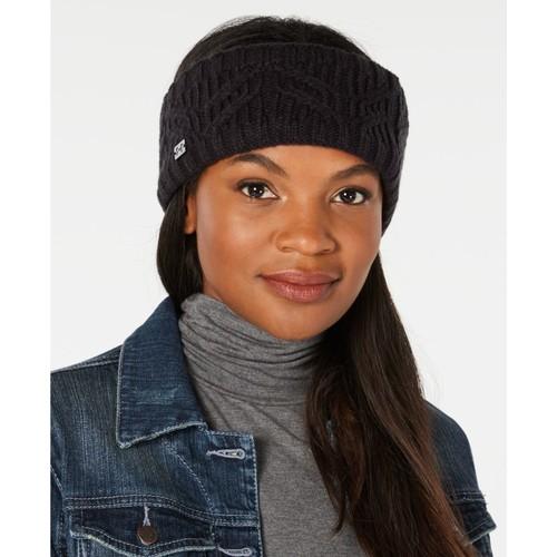 Women's Around Town Ski Handband, Black, swatch