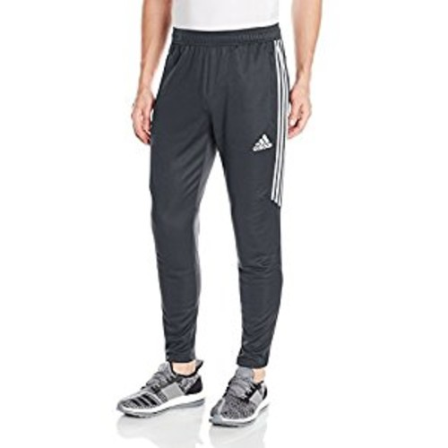 Men's Soccer Tiro Training Pants, Heather Gray, swatch