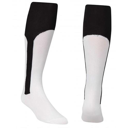 Youth Stirrup Baseball Socks, Black, swatch
