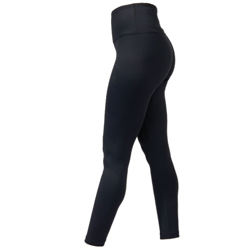 Women's Hi Waist Brushed Inside Legging, Black, swatch