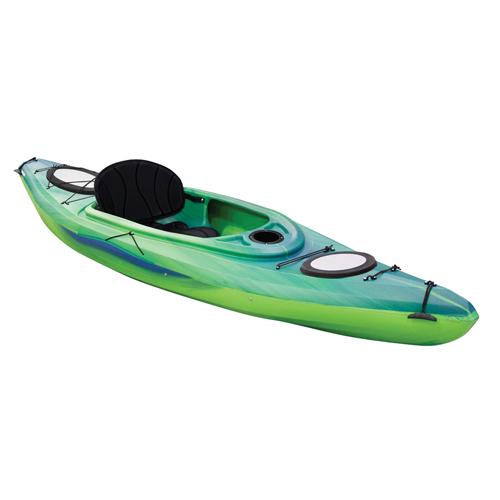Explorer 10.4 Sit-In Kayak, Green/Blue, swatch